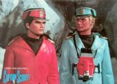 Captain Scarlet - 'Captains Scarlet and Blue' Postcard